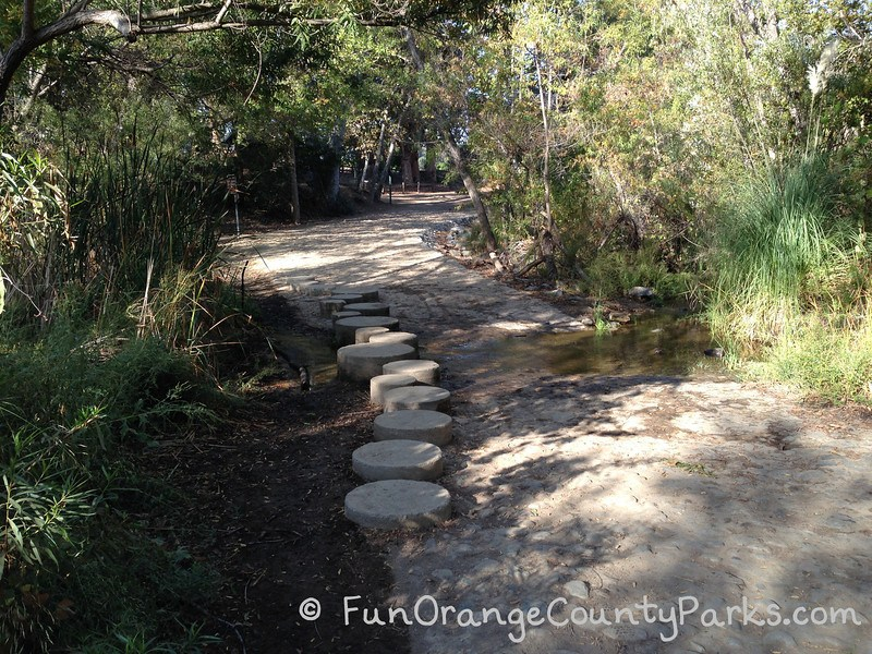 Santiago Oaks Regional Park creek