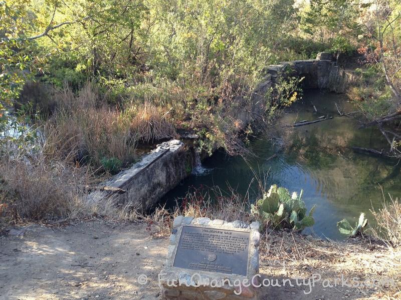 Santiago Oaks Regional Park bridge