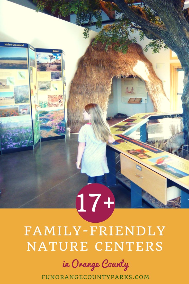 family-friendly nature centers in Orange County