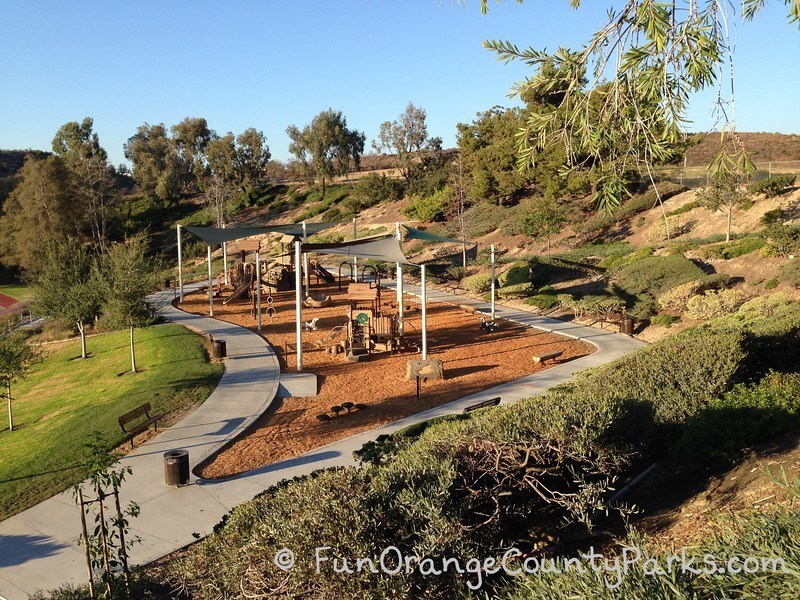 tamarisk park lake forest - view from above