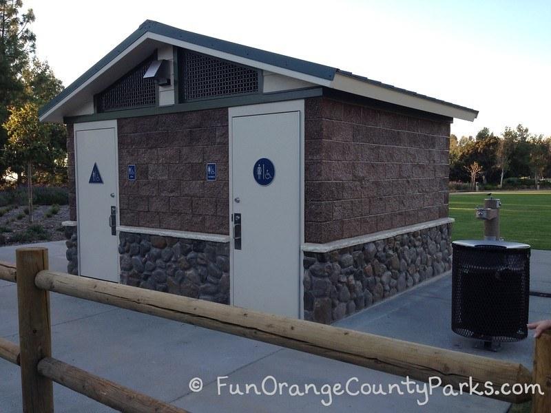 restroom building