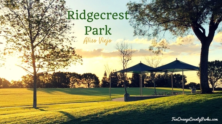Ridgecrest Park Aliso Viejo