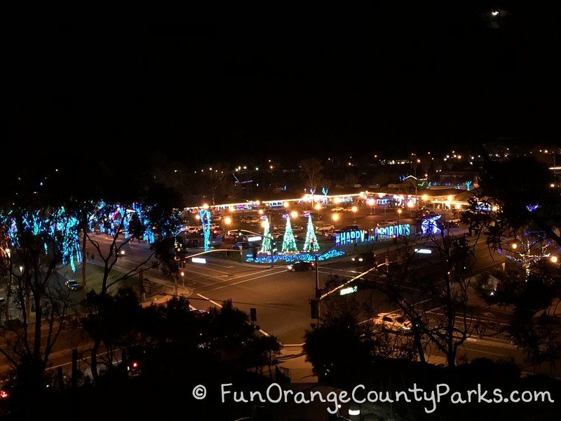view of dana point harbor holiday lights happy harbor days from bluff above the harbor