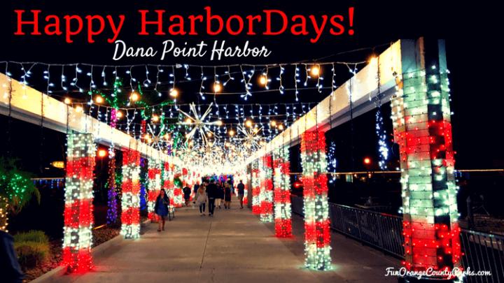Holiday Lights at Dana Point Harbor 2020