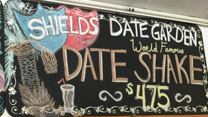 Cafe at Shields Date Garden for an Outdoor Lunch