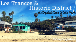 Crystal Cove Historic District featured image of buildings at the beach