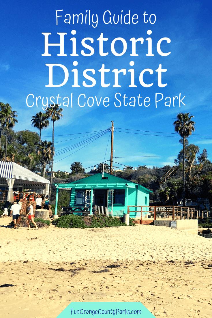 crystal cove historic district family guide pin