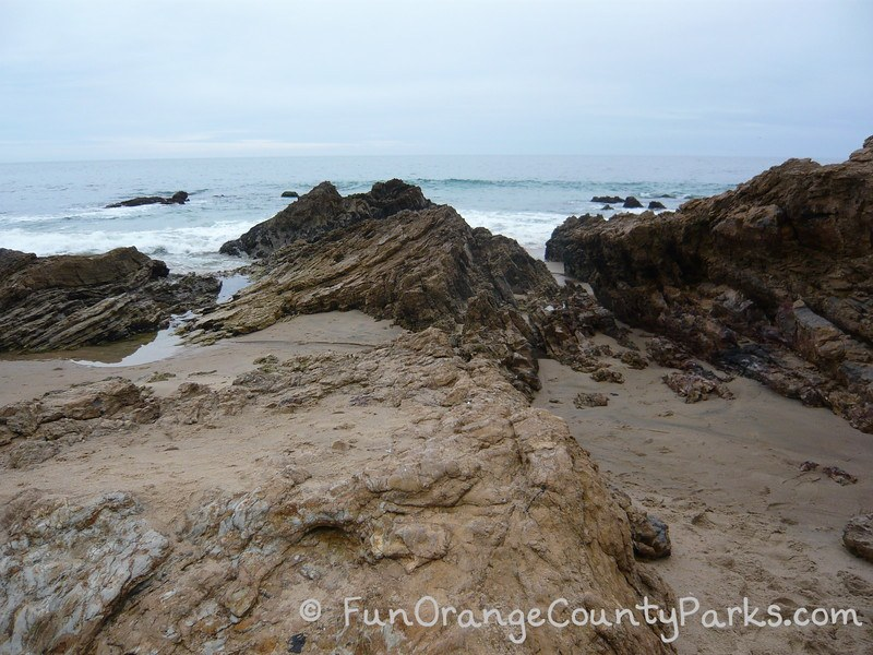 reef point crystal cove state park - rocks