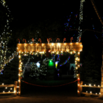Christmas Train at Irvine Park Railroad