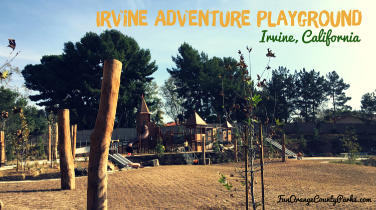 Irvine Adventure Playground at University Park: Color It With Play