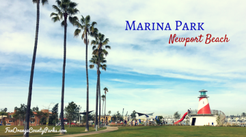 Marina Park in Newport Beach on the Balboa Peninsula