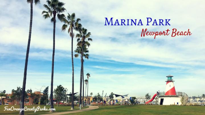 Marina Park in Newport Beach on the Balboa Peninsula