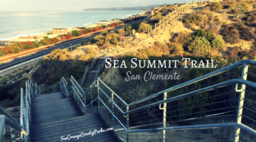 Sea Summit Trail with Stairs Near San Clemente Outlets