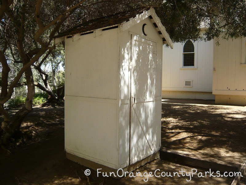 heritage hill historical park lake forest - outhouse