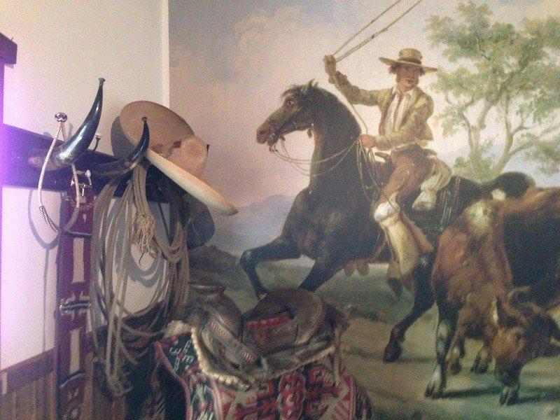 heritage hill historical park lake forest - mural in children's room