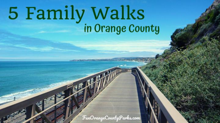 5 Family Walks in Orange County