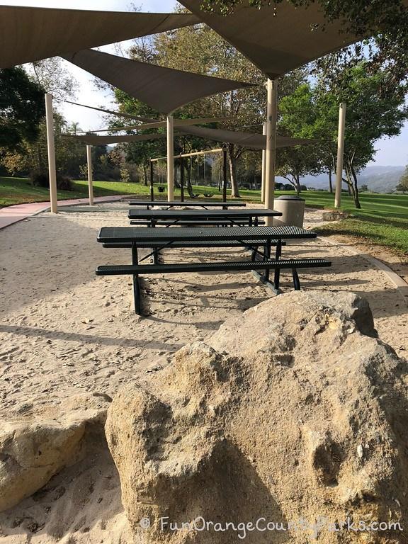 Canyon View Park Aliso Viejo picnic tables