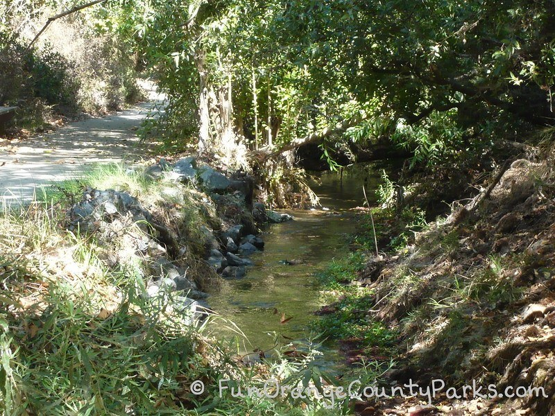 turtle rock nature center irvine stream