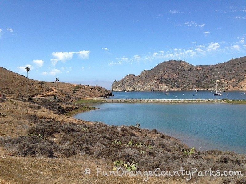 Cat Harbor at the Isthmus at Catalina Harbor