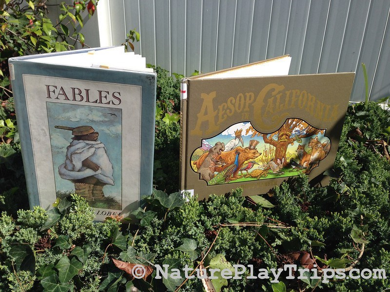 aesops fables library books