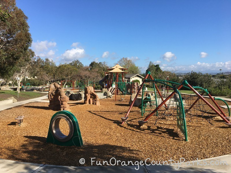 creekside park dana point - playground overview