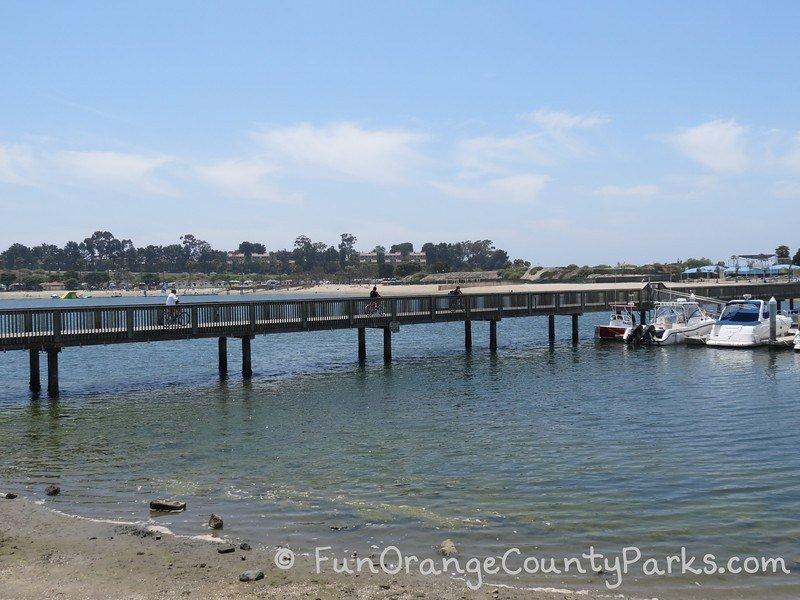 newport dunes bike bridge