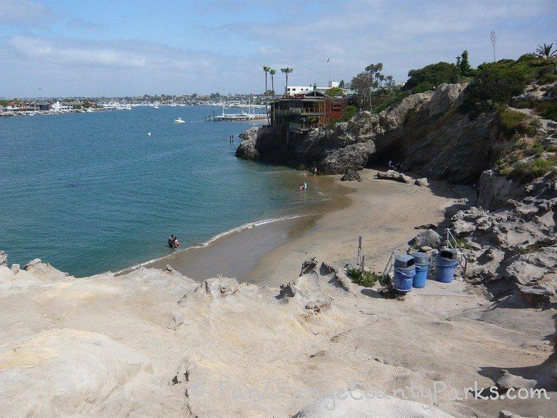 toddler beaches - pirate cove corona del mar