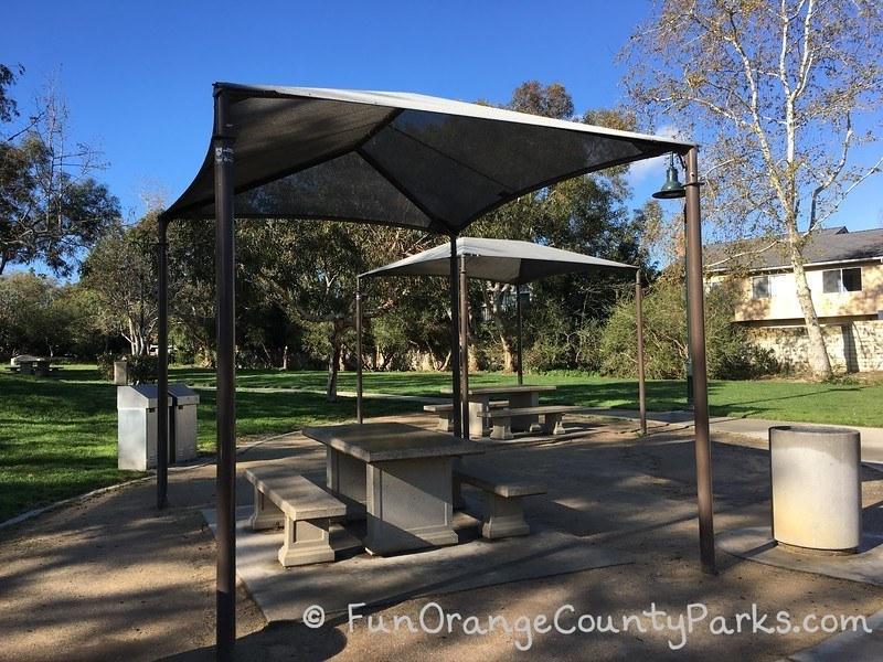 creekside park dana point - picnic tables
