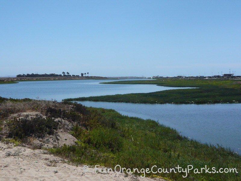 bolsa chica wetlands huntington beach - view of wetlands