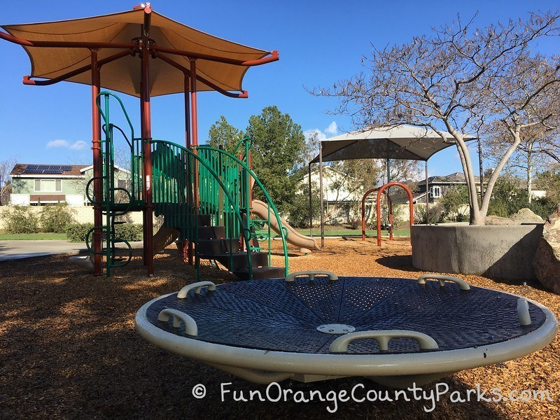 creekside park dana point - disc and smaller playground