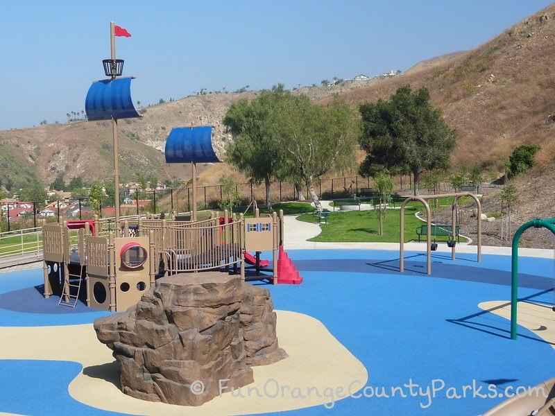 box canyon park yorba linda - pirate ship playground