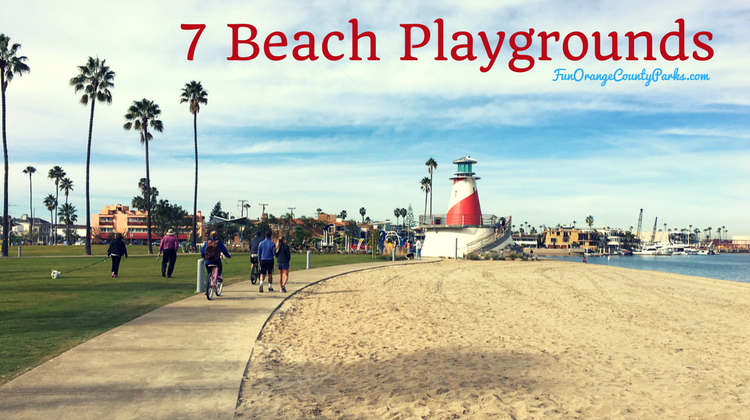 7 Beach Playgrounds Right in the Sand