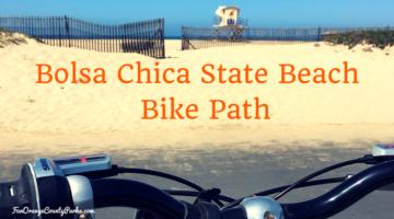 Bolsa Chica State Beach Bike Path