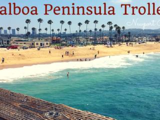 free balboa peninsula summer trolley