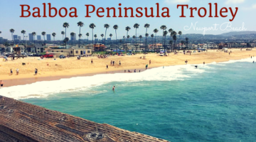 Balboa Peninsula Summer Trolley to Balboa Pier
