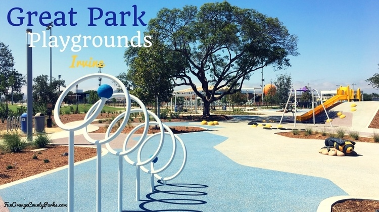 Great Park Playgrounds in Irvine