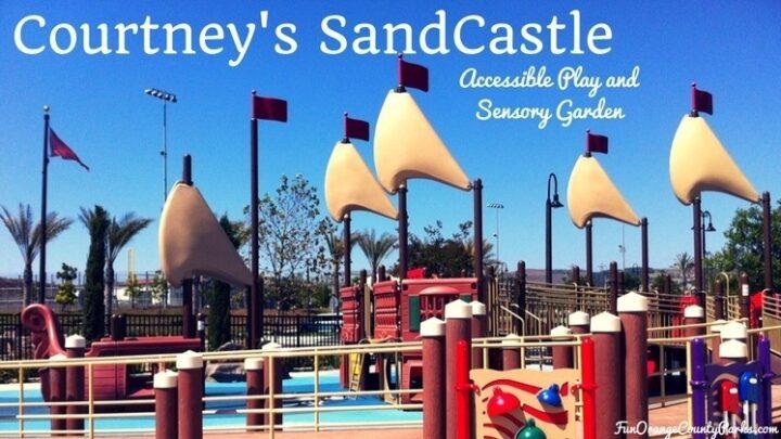 Courtney's SandCastle Universal Playground & Sensory Garden in San Clemente