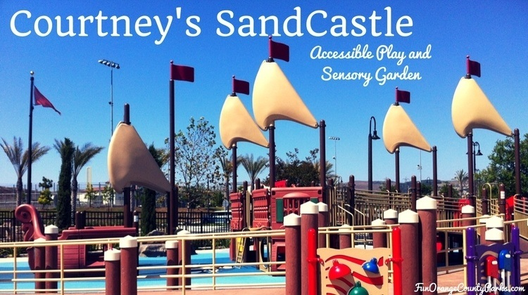 Courtney's Sandcastle playground with sails on pirate ship