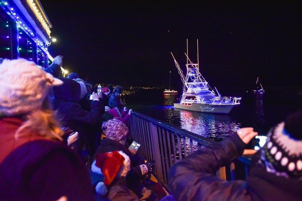 dana point harbor holiday lights boat parade