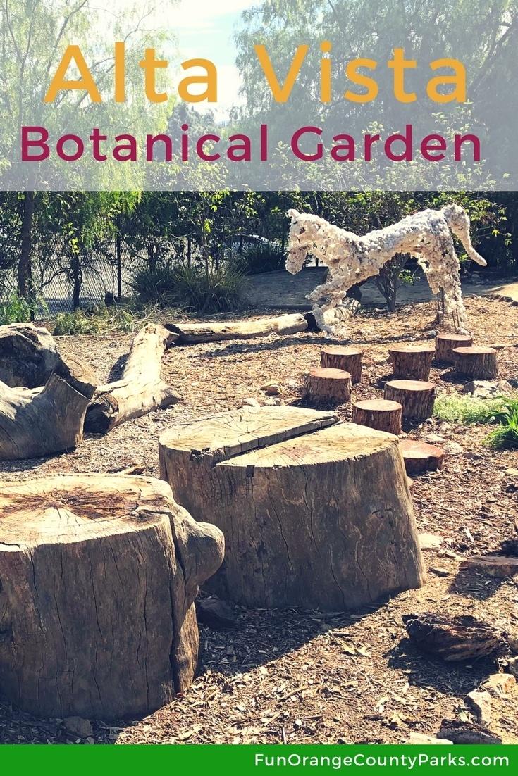 Alta Vista Botanical Gardens At Brengle Terrace Park In Vista Fun Orange County Parks
