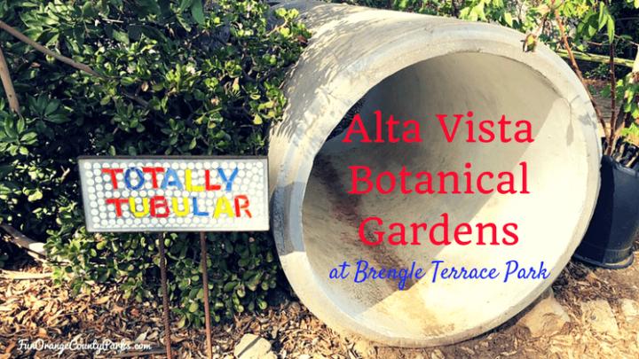 Alta Vista Botanical Gardens at Brengle Terrace Park in Vista