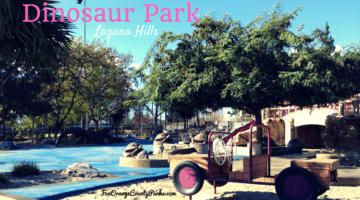 Dinosaur Park in Laguna Hills: Dive Into Undersea Fossils