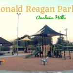 Ronald Reagan Park playground in Anaheim Hills