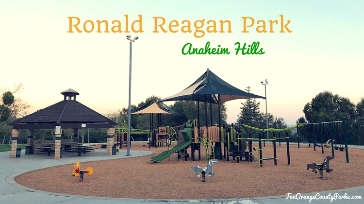 Ronald Reagan Park playground in Anaheim Hills