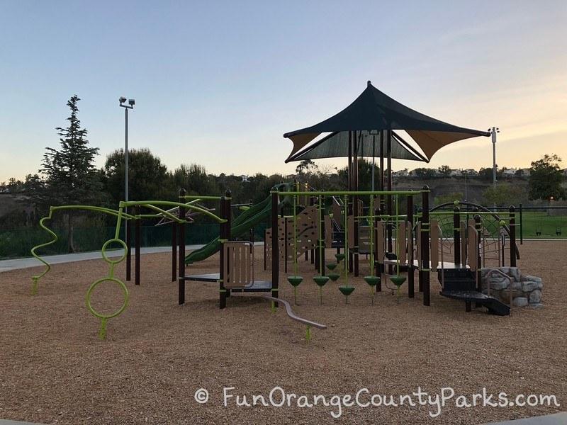 Big Kid Playground at Ronald Reagan Park in Anaheim Hills