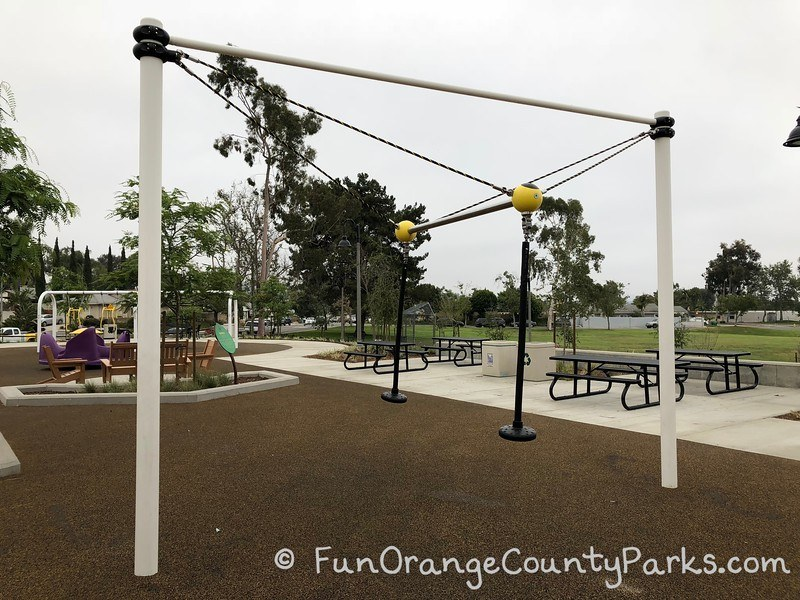 hanging teeter totter that works like a pendulum