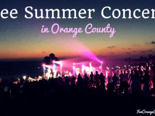 salt creek beach concert with pink lights