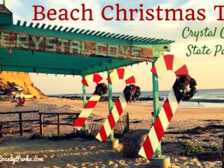 Beach Christmas Tree Crystal Cove