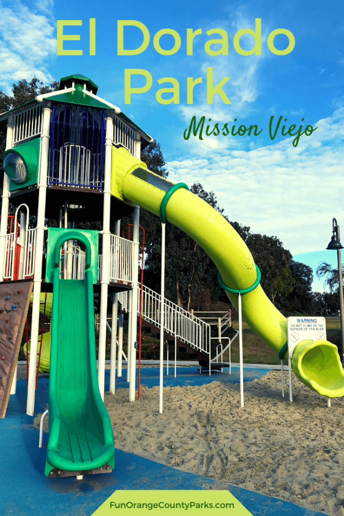 el dorado park mission viejo pinterest image with tunnel slide featured