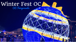 winter fest oc featured photo of blue lighted ornament